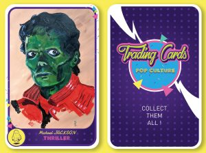 King of pop culture card