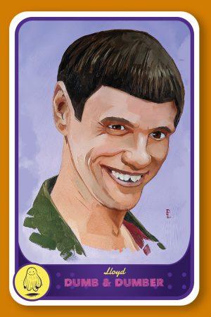 Pop culture card Jim Carrey