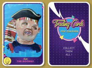Trading card Goonies Pop culture