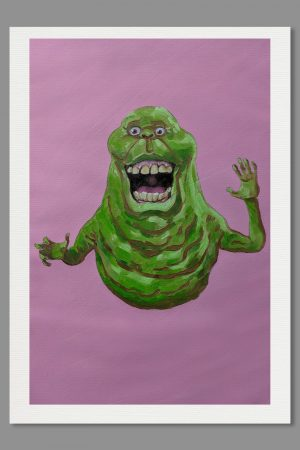 Slimer A4 Print Ghostbusters